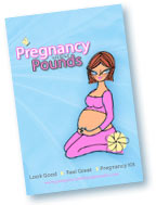 Picture of the Pregnancy Without Pounds eBook, which was written by Michelle herself.