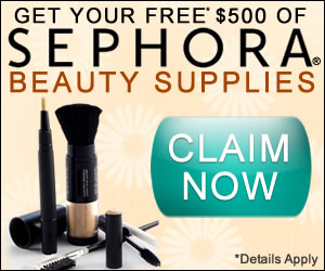 free online sample sephora Beauty Supplies